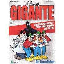 Revista Disney Gigante Nº1 Os Bandidos