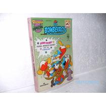 Gibi Disney Especial Nº117 Os Bombeiros Ed.abril89 1ª Edição