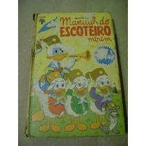 Escoteiro Mirim - 2ª Edição - Manual Disney Ed. Abril Raro