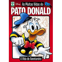 Disney Temático As Muitas Vidas Do Pato Donald Vol. 1 Novo!