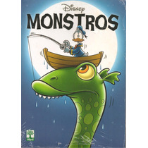 Revista Disney Monstros 300 Páginas Inéditas - Novo Lacrado