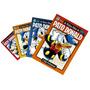 Lote Disney 4 Volumes As Muitas Vidas Do Pato Donald 1 2 3 4