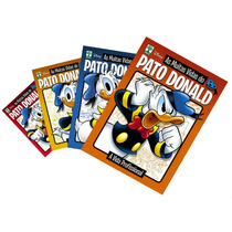 Lote Disney 4 Volumes As Muitas Vidas Do Pato Donald 1 2 3 4