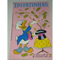 Tio Patinhas Nº 104/1974 - O Ouro Que Veio Do Espaço - Banca
