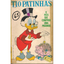 Tio Patinhas Nº 65 - Dezembro De 1970 - Ed. Abril - Raro