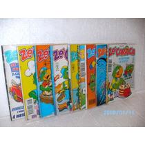 9 Gibis Disney Zé Carioca Quadrinhos Nºs 2001-2003-2005...fj