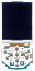 Display, Lcd C/ Placa Do Teclado Do Celular Samsung Gt-m2510
