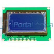 Display Lcd Gráfico 128x64 Azul