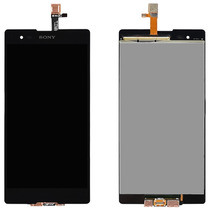 Display Lcd Tela Touch Sony Xperia T2 Ultra Dual D5322 Preto