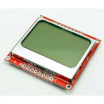 Módulo Display Lcd Gráfico Nokia 5110 - Arduino, Pic, Avr