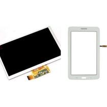 Display + Tela Touch Sm-t110 Samsung Galaxy Tab 3 Lite Branc