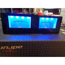 Vu Meter Analógico Akay Tape Deck/ Com Iluminaçao 12v