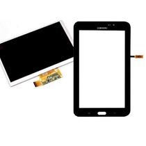 Display + Tela Touch Sm-t110 Samsung Galaxy Tab 3 Lite Preto