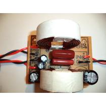 Divisor Frequencia Crossover 2 Vias P/ Mediograve E Driver