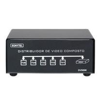 Splitter Distribuidor De Video Composto+audio 1x5 Dvs500