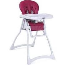 Cadeira De Refeição Burigotto Merenda Framboesa S/ Juros