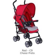 Carro Bebê De Passeio E Berço Sunshine Burigotto