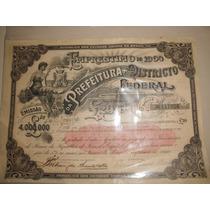 Apolice Distrito Federal 1904 20libras