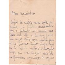 Carta De Amor Manuscrita - Cabo Frio 27/abril/1926