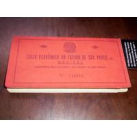 Caderneta Caixa Econômica Do Estado De Sp 1945