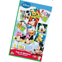 Jogo De Memória A Casa Do Mickey Mouse - Toyster
