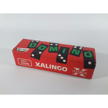 Jogo De Domino Antigo Xalingo Peças De Madeira Antigo