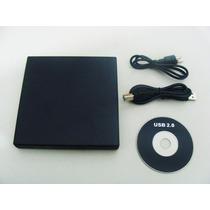 Drive Externo Usb Gravador Leitor Cd E Dvd Novo + Frete ¿