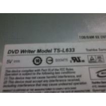 Drive Dvd/cd E Gravador Notebook Unique Positivo Ts L633ap