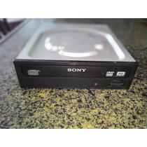 Gravador De Dvd-rw Sony, Conexão Sata De Cor Preta