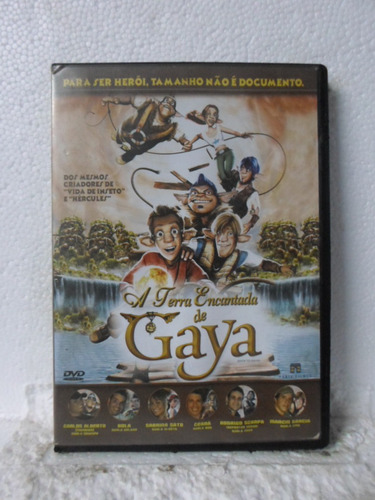 Dvd A Terra Encantada De Gaya [frete Gratis]