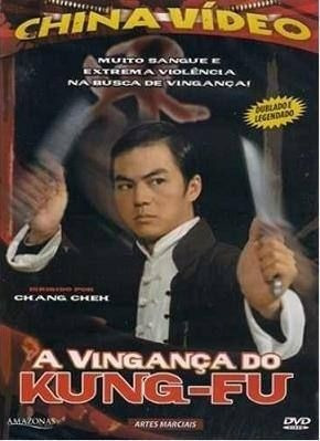 Dvd - A Vingança Do Kung-fu - David Chiang