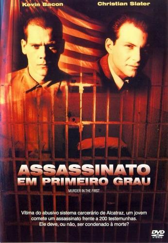 Dvd Assassinato Em Primeiro Grau - Kevin Bacon & Christian