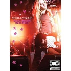 Dvd Avril Lavigne-ao Vivo Sk8er Boi,complicated Lacrado