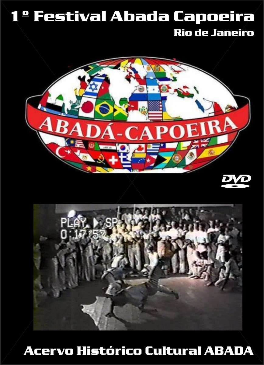 Dvd Capoeira 1 Festival Abada Capoeira Raridade - R$ 20,00 no ...
