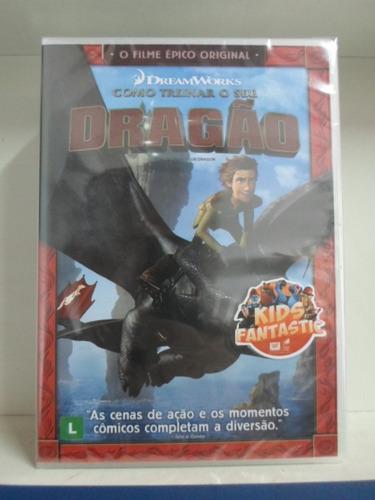 Dvd Como Treinar Seu Dragão [lacrado] [frete Gratis]