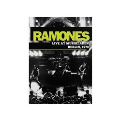 Dvd Da Banda Ramones Live At Musikladen Berlin, 1978.