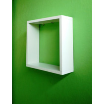 Kit 3 Nichos 30x30x10 Cm-100%mdf 15mm Branco-decorativo