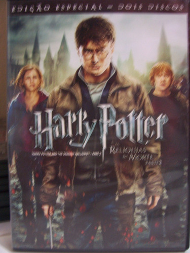 Dvd - Harry Potter E As Relíquias Da Morte Parte 2 - Duplo