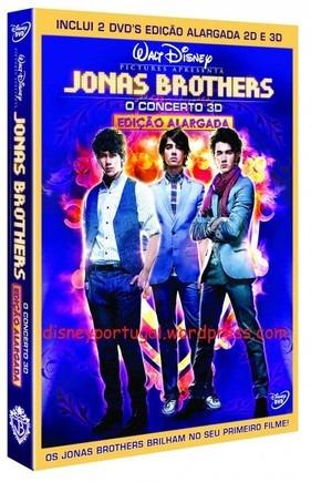 Dvd Jonas Brothers O Show Versão Extendida