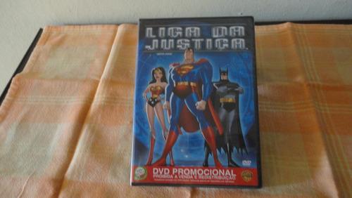 Dvd - Liga Da Justiça Vol 1 - Lacrado - Original