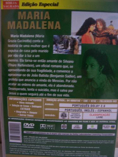Dvd - Maria Madalena