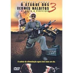 Dvd-o Ataque Dos Vermes Malditos 3 Michael Gross