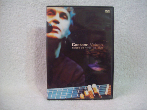 Dvd Original Caetano Veloso- Noites Do Norte- Ao Vivo
