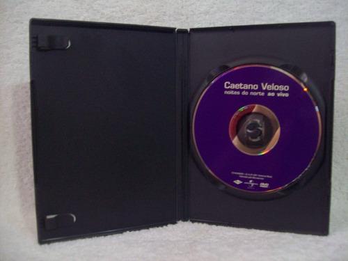 Dvd Original Caetano Veloso- Noites Do Norte- Ao Vivo