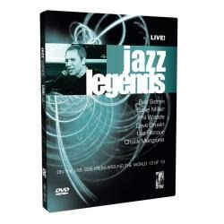 Dvd Original - Jazz Legends - Live - Volume 13