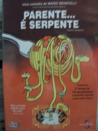 Dvd - Parente.... É Serpente
