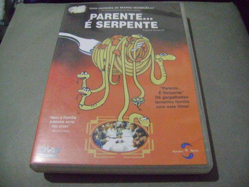 Dvd Parente É Serpente
