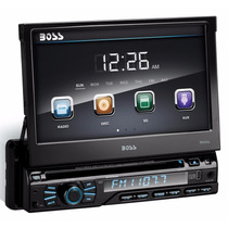 Dvd Retrátil 7 Boss Bv9965 Usb Touchscreen Mp3 Ipod Controle