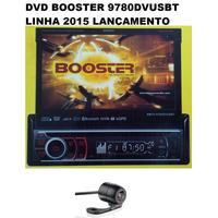 Dvd Retratil Booster 9680 Gps Tv Ipod Usb Sd + Câmera De Ré.