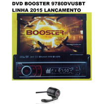 Dvd Retratil Booster 9680 Gps Tv Ipod Usb Sd + Câmera De Ré.